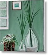 Sea Grass Metal Print