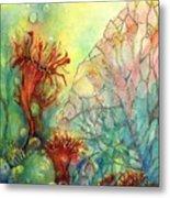 Seaflowers II Metal Print