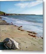 Seascape Wales Metal Print