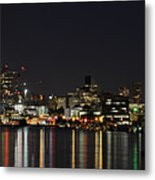 Seattle Skyline Metal Print by Michael Gass