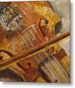 Secondhand Violin Metal Print