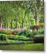 Secret Garden    Op Metal Print