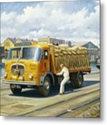 Seddon At Poole Docks. Metal Print