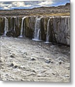 Selfoss Waterfall Metal Print