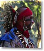 Seminole Warrior Metal Print