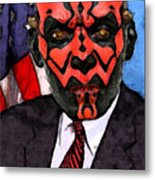 Senator Darth Maul Metal Print
