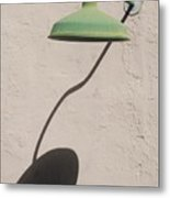 Shadow Lamp Metal Print