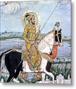 Shah Jahan (1592-1666) Metal Print