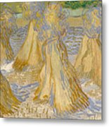 Sheaves Of Wheat Metal Print