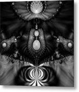Shell Realm Metal Print