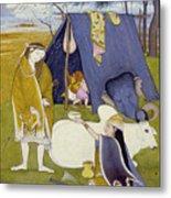 Shiva And His Family Metal Print