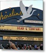 Shoreline Amphitheatre - Dead And Company Metal Print