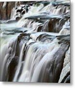 Shoshone Falls Close Up Metal Print