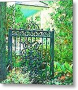 Side Gate Metal Print