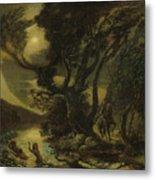 Siegfried And The Rhine Maidens Metal Print