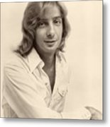 Singer Barry Manilow 1975 Metal Print