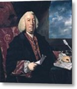 Sir James Hodges Metal Print