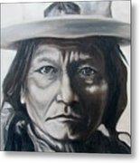 Sitting Bull Metal Print