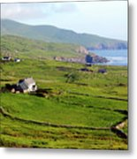 Skellig Ring - Ireland Metal Print