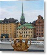 Skeppsholmsbron - Stockholm Metal Print