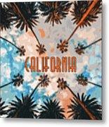Skies Of California Metal Print