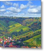 Small Town Metal Print