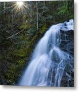 Snow Creek Falls Metal Print