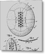 Soccer Ball Patent  1928 Metal Print