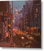 Soho Artistic Dreams Metal Print
