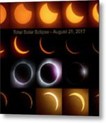 Solar Eclipse - August 21 2017 Metal Print