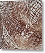 Solemn - Tile Metal Print