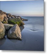 South County Sunset  Metal Print