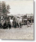 South Dakota: Cowboys Metal Print