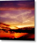 Southern Sunset Metal Print