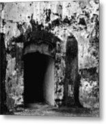 Spanish Fort Doorway Metal Print