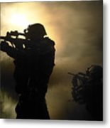 Special Operation Forces Combat Divers Metal Print