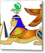 Sphinx - Mythical Creatures Of Ancient Egypt Metal Print