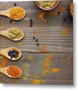 Spices Metal Print