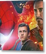 Spider-man Homecoming Metal Print