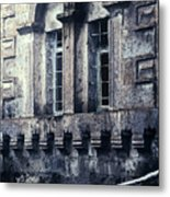 Spooky House Metal Print