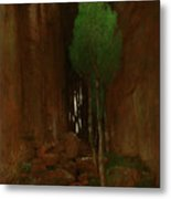 Spring In A Narrow Gorge  Metal Print