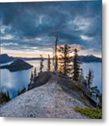 Spring Morning At Discovery Point Metal Print