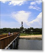 St Augustine Light On The Atlantic Coast Of Florida Metal Print