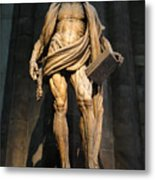 St. Bartholomew In Milan Cathedral By Marco D'agrate Metal Print