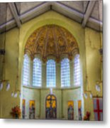 St George In The East Church London Metal Print