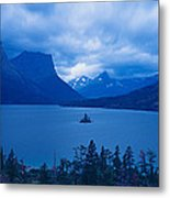 St. Mary Lake, Glacier National Park Metal Print