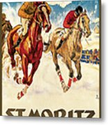St. Moritz Metal Print