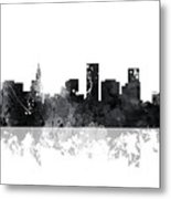 St Paul Minnesota Skyline Metal Print