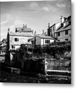 Staithes Village Metal Print