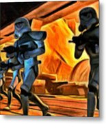 Star Wars Invasion Metal Print